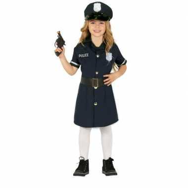Politie agent uniform jurkje voor meisjes