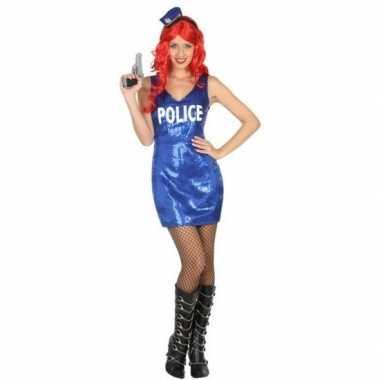 Politie pailletten jurkje voor dames
