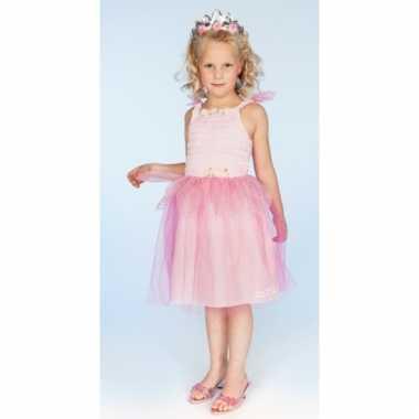 Prinsessen jurkje kelly roze