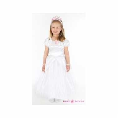 Prinsessen jurkje lindy wit