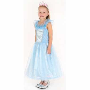 Prinsessen jurkje saphira blauw