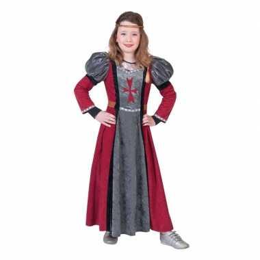 Ridder verkleed jurk voor meisjes