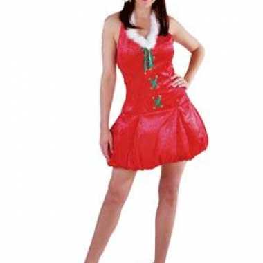 Rode dames kerst outfit