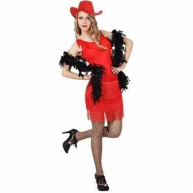 Rood western jurkje voor dames