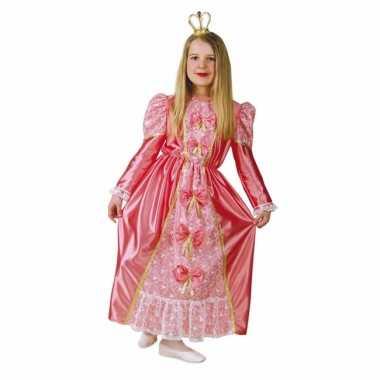 Roze prinsessen jurk kinderen