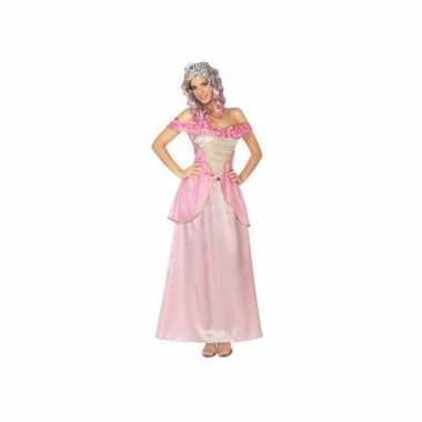 Roze prinsessen jurk voor dames