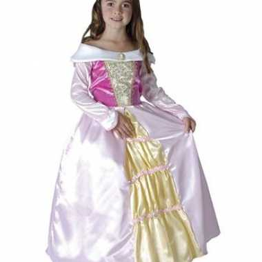 Roze prinsessen jurk
