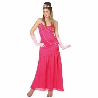 Roze prinsessen jurkje voor dames