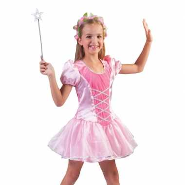 Roze prinsessenjurkje voor meisjes