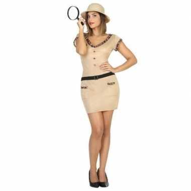 Safari explorer kostuum voor dames