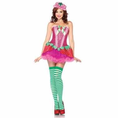 Sexy aardbeien jurkje voor dames