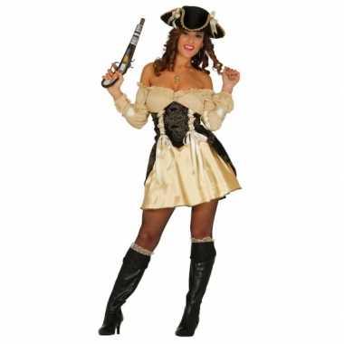 Sexy beige piraten jurk