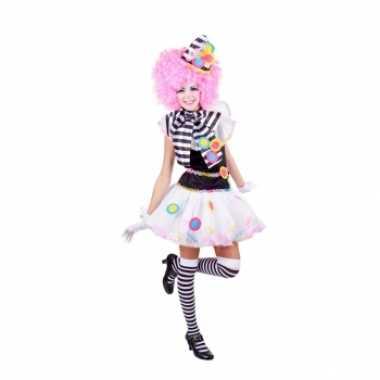 Sexy clown kostuum dames