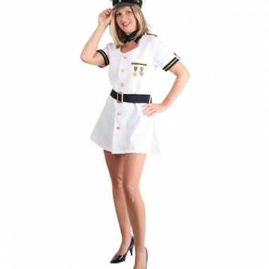 Sexy kapitein jurk voor dames