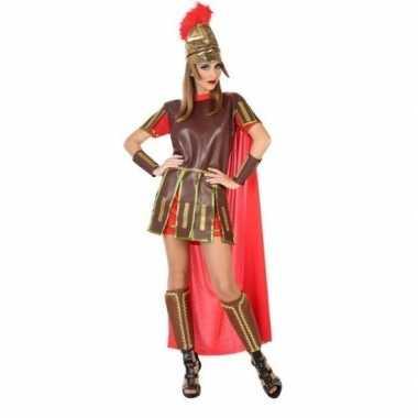 Sexy romeinse gladiator felicia kostuum/jurk voor dames