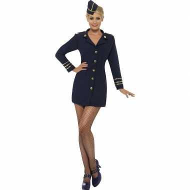 Sexy stewardessen verkleedkleding voor dames