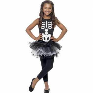 Skelet jurk met tutu voor meisjes