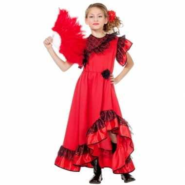 Spaanse carmen outfit voor meisjes