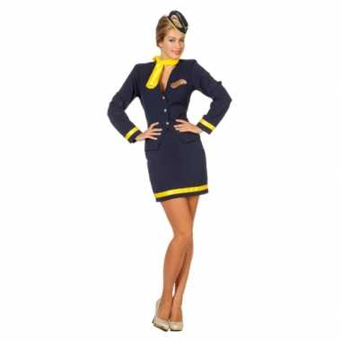 Stewardess uniform voor dames