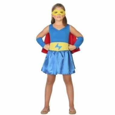 Supergirl verkleedjurk voor meisjes