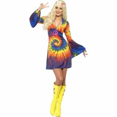 Tie dye verkleed jurkje voor dames