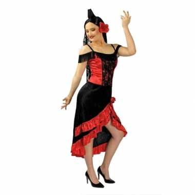 Traditionele flemenco jurk inclusief mantilla