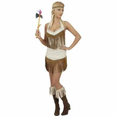 Verkleedkleding indianen jurkje