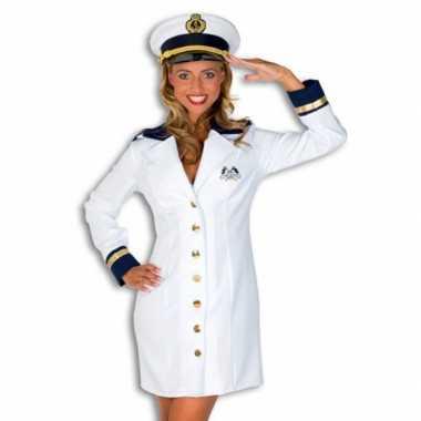 Verkleedkleding kapiteinspak dames