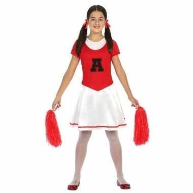 Voordelig cheerleader kostuum voor meisjes