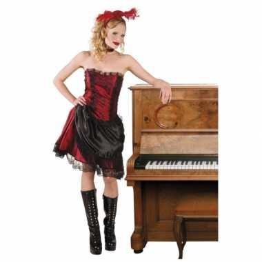 Wilde westen kostuum saloongirl