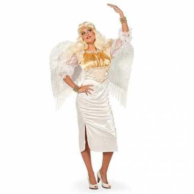 Wit engel kostuum voor dames