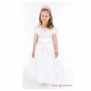 Wit trouwjurkje voor kinderen