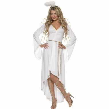 Witte engel verkleedkleding voor dames