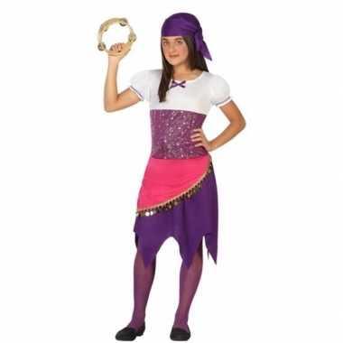Zigeuner esmeralda verkleedjurk voor meisjes