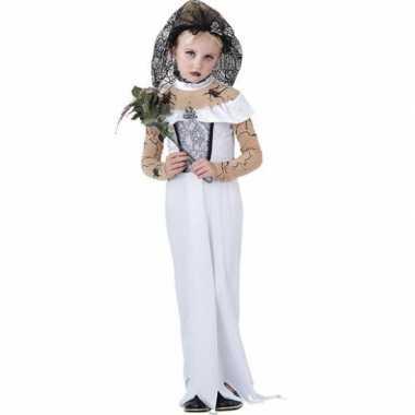 Zombie bruid meisjes kostuum