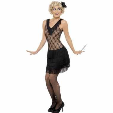 Zwart twenties jurkje voor dames