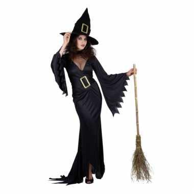 Zwarte heks verkleedkleding